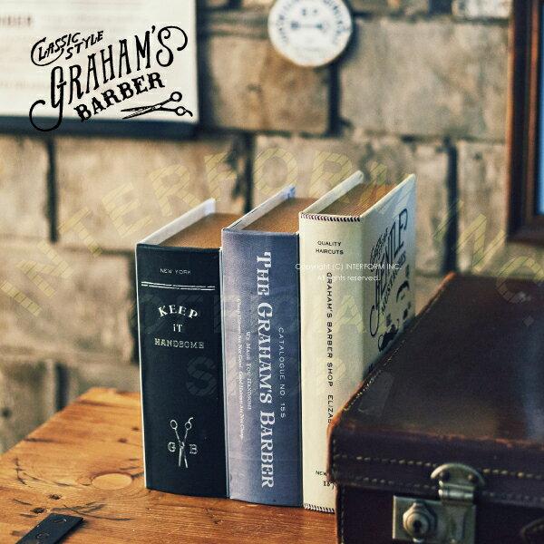 Graham's Barber [ グラハムズ バーバー ] ブックボックス ■ 本型収納 | 小物入れ【 インターフォルム 】