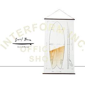 Surf Bum [ サーフバム ] タペストリー ■ ポスター | ウォールアート 【 インターフォルム 】