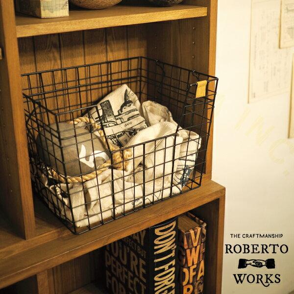 Roberto Works [ ロベルトワークス ] バスケット ■ ワイヤーバスケット 【 インターフォルム 】