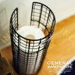 GeneralManufacture[ジェネラルマニュファクチャ]ワイヤーストッカー■ロールペーパーストッカー|かご【インターフォルム】