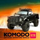ラジコン オフロード 1/10 スケールモデル 4リンク 4WD プロポセット ラジコン 組立済み 塗装済み クローラー ロッククローラー Gmade コモド ...