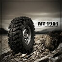 オフロードタイヤ 1.9インチホイール対応 2個セット ハイグリップタイヤ 1.9 MT 1901 Off-road Tires (2) GM70164 ラジコ...