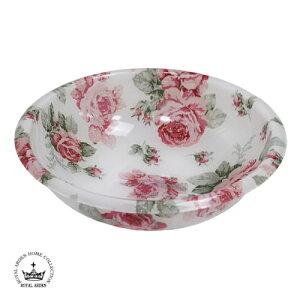 ルーシー バスボウルお風呂 湯桶 桶 洗面器 バラ 薔薇 ローズ エレガント 華やか 天使 エンジェル 妖精 フェアリー
