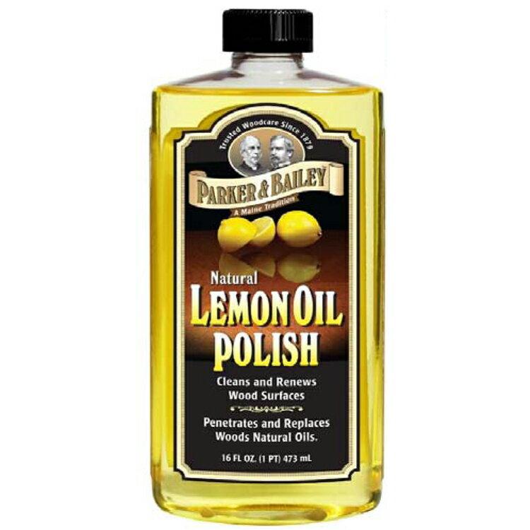 レモンオイル 473ml 艶出しオイル 家具キズ防止 お手入れ パーカー LEMON OIL 日焼け防止 メンテナンス れもんおいる
