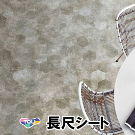 東リ 長尺シート マチュアNW|FS3003(ヘキサモルタル)