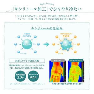 マイナス2℃ひんやり接触冷感ラグ