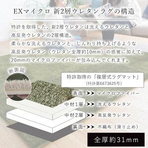 EXマイクロ新2層ウレタンラグマット