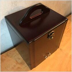 メイクボックス鏡付きコスメボックス持ち運び化粧箱木製メイクBOXコンパクトコスメティックボックス化粧品収納鏡台ドレッサー日本製国産母の日送料無料通販MK9900【kam】【smtb-f】