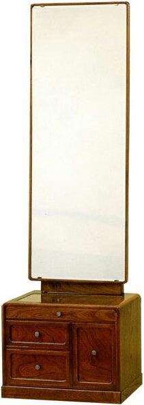 座鏡和風鏡台ドレッサー一面鏡姿見化粧台欅メイク台高級日本製国産送料無料通販うるしん古代YK415【kam】【smtb-f】