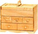 ソーイングボックス 木製 裁縫箱 おしゃれ ソーイングBOX 和風 ...