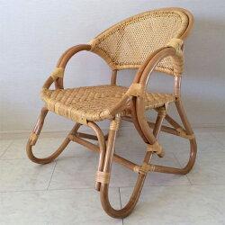 アームチェア籐椅子ラタン1人掛けダイニングチェア肘付きリビングチェアアジアン軽量送料無料通販43【inc】【smtb-f】