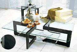 リビングテーブル白ガラステーブルブラックセンターテーブルおしゃれローテーブル北欧コーヒーテーブルモダンホワイト黒アルテジャパン送料無料通販YG-64YG-65【art】【smtb-F】