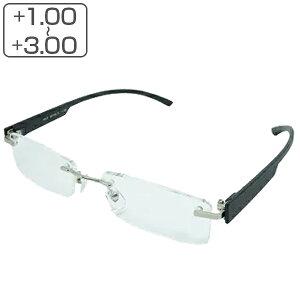 老眼鏡 シニアグラス フチなし メンズ レディース リーディンググラス 軽量 ( 男性 女性 男女兼用 リムレス 縁なし 丈夫 メガネ 眼鏡 めがね おしゃれ )【39ショップ】