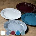プレート 25cm オーバル リアン 磁器 食器 日本製 ( 電子レンジ対応 食洗機対応 大皿 花柄 皿 メイン皿 ワンプレート…