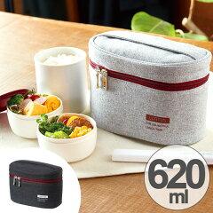 保温弁当箱ランチジャーステンレス製ランタス専用バッグ付620ml箸付き