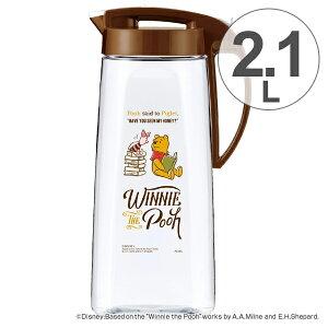 ピッチャー 冷水筒 2.1L くまのプーさん ヴィンテ...