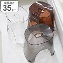 風呂イス バスチェア レリッシュ RELISH 35cm ( 送料無料 風呂椅子 風呂いす 透明 クリア 高さ35cm 風呂 お風呂 椅子…