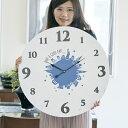 掛け時計 大型 60cm ニューヨーク Town series モチーフクロック ( アナログ 時計 壁掛け時計 インテリア 雑貨 大型 ビッグ 大きい 壁掛け おしゃれ 掛時計 とけい クロック 掛け ウォールクロック 直径 60 )【5000円以上送料無料】