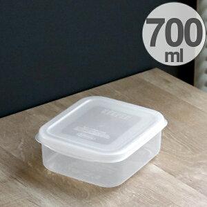 保存容器 フレッシュキーパー スナックケース M 700ml ( 食品保存容器 プラスチック容器 フードストッカー 電子レンジ対応 冷凍対応 プラスチック製保存容器 保存ケース 抗菌効果 作り置き
