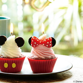 キャンドル ろうそく ディズニー カップケーキキャンドル ミニー ( ローソク ロウソク スイーツキャンドル ケーキキャンドル パーティーキャンドル ケーキ型 disney ミニーマウス minnie mouse minniemouse ディズニーグッズ )【39ショップ】