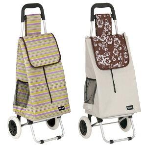 ショッピングカート 大容量 折りたたみ アルミ製 バッグ付 ( カート 折り畳み 2輪 アルミ キャリーカート ショッピングキャリー 買い物 キャリー ポケット付き キャリーバッグ )【39ショッ
