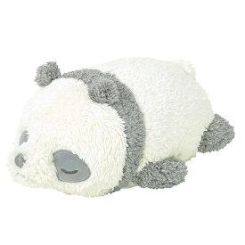 クッション ぬいぐるみ フラッフィーアニマルズ ボルスター パンダ ( 抱き枕 抱きまくら 動物 アニマル 洗える 洗濯 手洗い かわいい ふわふわ ぱんだ panda インテリア 雑貨 )【5000円以上送料無料】