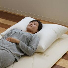 枕 ふわふわ 肩まで支えるBIGまくら 大きい 68×80cm 日本製 ( 送料無料 まくら ロング 肩こり 首こり 解消 寝返り ワイド 快眠 国産 ウレタンフォーム ピロー 寝具 肩 首 )【39ショップ】