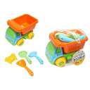 砂場遊び お砂場セット ダンプカー ( スコップ ジョウロ ジョーロ のりもの 外遊び プレゼント 遊び道具 おもちゃ …