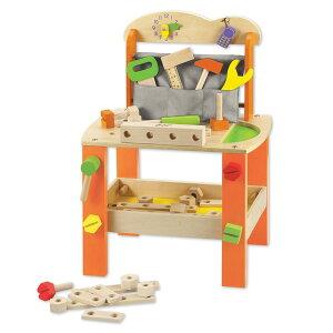工具セット 木製 ツール 知育玩具 おもちゃ Classic クラシック ( 送料無料 工具 台 木 玩具 出産祝い おすすめ 子供 知育 ごっこ遊び ツールセット ねじ 3歳 4歳 おしゃれ かわいい )【39ショ