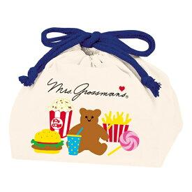お弁当袋 Mrs.Grossmans PARTY ランチバッグ ( ミセス・グロスマン 巾着 巾着袋 グロスマン 弁当包み 袋 小物入れ 幼稚園 保育園 子供用 キッズ )【39ショップ】