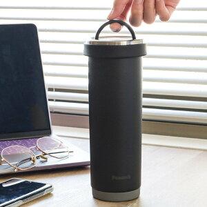 水筒 マグ 500ml タンブラーボトル 持ち手 ( 直飲み 保温 保冷 タンブラー ボトル 蓋付き コーヒー ステンレス 真空二重構造 直のみ コーヒータンブラー コーヒーボトル カフェボトル 広口 お