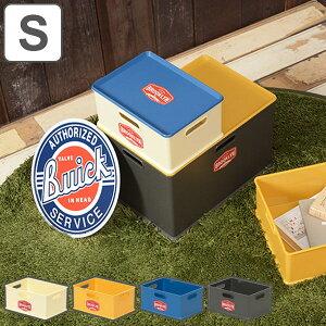 収納ボックス S 幅27×奥行20×高さ12cm ブルックリン ( カラーボックス インナーボックス 収納 収納ケース おもちゃ箱 プラスチック コンテナ 積み重ね スタッキング 横置き おもちゃ入れ 小