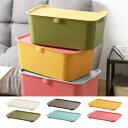 カタス 専用蓋 ML ( 収納ボックス プラスチック カラーボックス 収納ケース 積み重ね スタッキング 色 小物入れ おもちゃ箱 衣類収納 おしゃれ 引き出し 収納箱 かご バスケット ランドリー