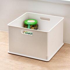 カラーボックス横置きインナーボックス収納squ+ハーフインボックスプラスチック日本製