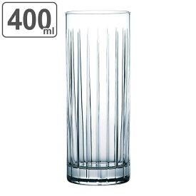 タンブラー 400ml ニューラムダ グラス コップ 食器 ガラス 強化ガラス 日本製 ( 食洗機対応 ハイボールグラス ウイスキー 水割り 13オンス ダブル タンブラーグラス 酎ハイ 生ビール ウィスキー ファインクリア HS )【39ショップ】