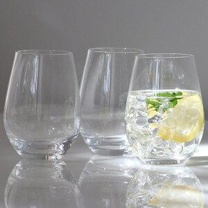 タンブラー 490ml 3個セット ウォーターバリエーション ウォーターグラス グラス セット ガラス コップ 日本製 ( 食洗機対応 ガラスコップ ワインタンブラー ビールグラス ソフトドリンク 脚
