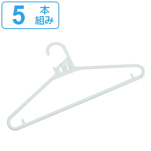 洗濯ハンガー クイックハンガー 5本組 アライール Arairu ( ハンガー 襟ぐり 伸びない 連結 洗濯 物干し 吊りひも 紐かけ 襟元 5本 可倒式 収納 収納ハンガー クローゼット )【39ショップ】