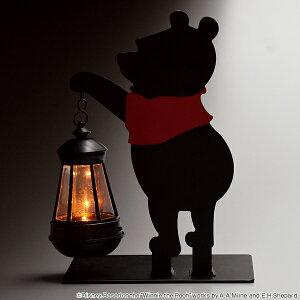 ソーラーライト くまのプーさん LEDライト 光センサ...