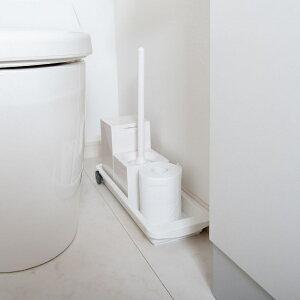 トイレ収納 スライドトレー スリムタイプ 隙間収納 トイレ 収納 洗濯機横 洗面所 ( すき間収納 トレー キャスター 幅15cm スリム 洗面下 トレイ 洗面台下 洗剤 ブラシ 柔軟剤 スタンド 置き