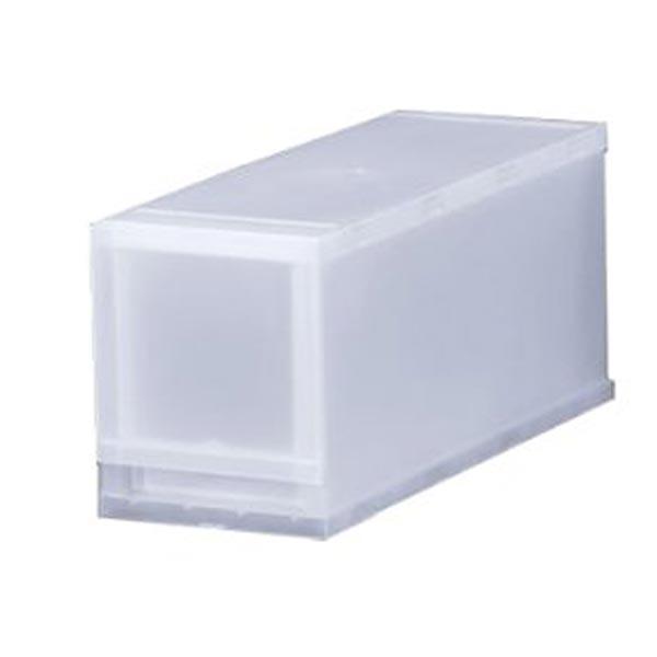 収納ケース プラスト 半透明タイプ 1段 幅17×高さ20.5cm FR1701 ( 収納ボックス 引き出し プラスチック おもちゃ箱 小物入れ 積み重ね 衣裳ケース スタッキング 衣類収納 クローゼット ) 【5000円以上送料無料】