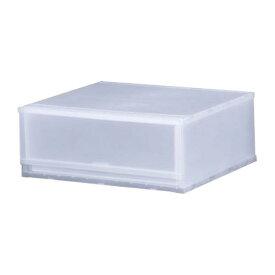 収納ケース プラスト 半透明タイプ 1段 幅51×高さ20.5cm FR5101 ( 収納ボックス 引き出し プラスチック おもちゃ箱 小物入れ 積み重ね 衣裳ケース スタッキング 衣類収納 クローゼット ) 【5000円以上送料無料】
