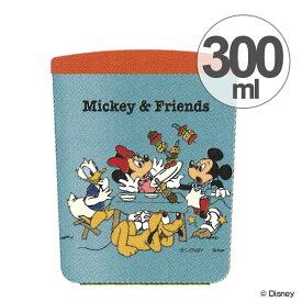 スープジャー 真空デリカポット シンプル設計 300ml ミッキーマウス Mickey&Friends ピクニック ( スープポット ランチジャー 保温 保冷 弁当箱 お弁当箱 スープボトル スープマグ ステンレス製 キャラクター ミッキー ディズニー )【39ショップ】