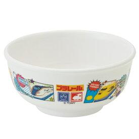 茶碗 240ml メラミン製 プラレール19 食器 キャラクター ( 食洗機対応 お茶碗 ご飯茶碗 トミカ プラレール 子供茶碗 子供 用 子ども 子供 キッズ キッズ食器 )【39ショップ】