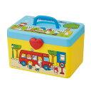 収納 ボックス 持ち手付きボックス サンリオキャラクターズ70s ( 小物入れ 収納ケース 収納BOX 道具箱 サンリオ キャ…
