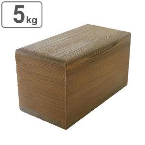 米びつ 桐製 5kg 焼桐 ( 送料無料 米櫃 ライスボックス ライスストッカー 5kg用 5キロ 桐 和風 桐製米びつ お米 収納 キッチン収納 ストッカー 保存 キッチン こめびつ ) 【39ショップ】