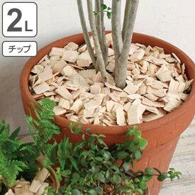 消臭 ヒノキ HINOKI CHIPS チップ 2L ( ウッドチップ 土かくし ガーデニング 天然木曽ヒノキ 観葉植物 檜 ひのき ) 【39ショップ】