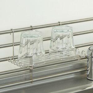 マルチラック 調味料ラック スポンジホルダー ステンレス製 棚小物シリーズ ( スパイスラック 調味料置き スパイスタンド スパイスホルダー 調味料スタンド 調味料収納 スパイス収納 スポ