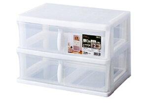 カラーボックス用 引出しケース プレクシー W2 ( インナーケース インナーボックス 収納ボックス 引き出し 書類収納 書類ケース 収納ケース プラスチック A4ファイル収納 レターケース )