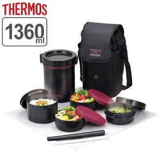 ■没有库存限度、进货的■保温盒饭午餐保温瓶膳魔师不锈钢午餐保温瓶JBE-1600