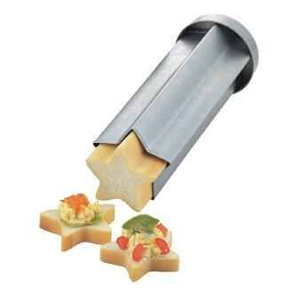 不带加料吐司型面包型的型明星面包星(筒状面包型加料吐司面包冷盘加料吐司型烤面包型制造糕点工具)